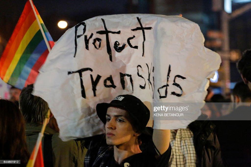 US-POLITICS-LGBT-RIGHTS : News Photo
