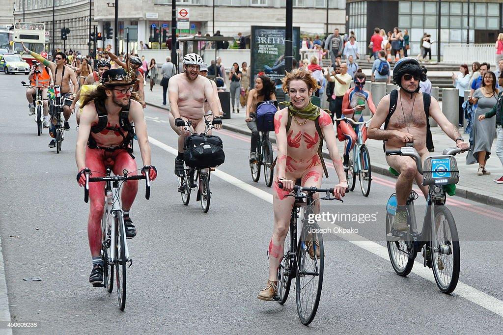 Bike london naked ride