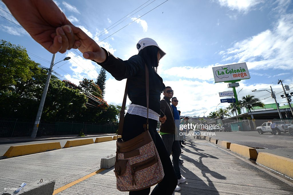 HONDURAS-VIOLENCE-DEMO : News Photo