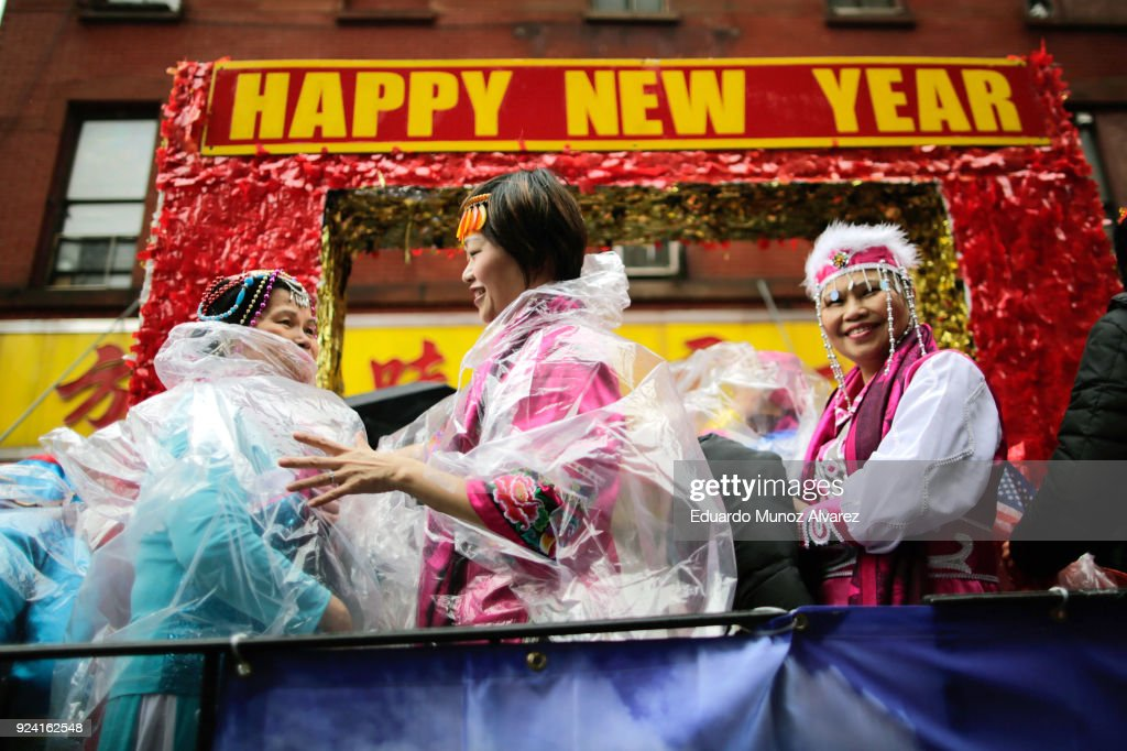 Lunar New Year Parade Held In New York City's Chinatown