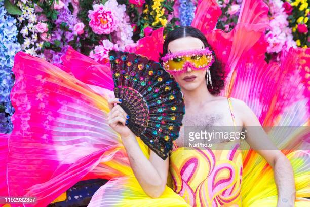 People take part in the Milano Pride 2019 in Milan, Italy, on June 29, 2019