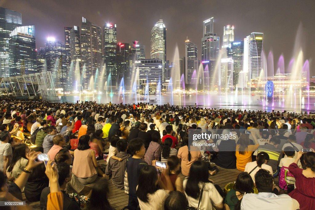 City Views of Singapore Ahead of Finance Minister Heng Swee Keat's Budget Speech : News Photo