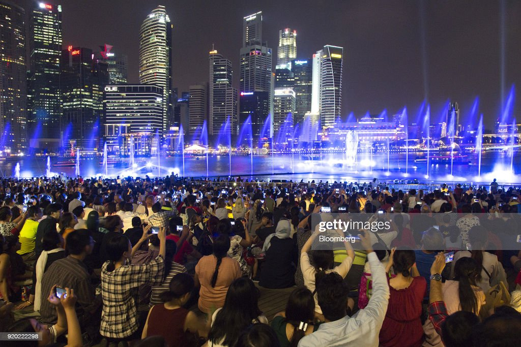 City Views of Singapore Ahead of Finance Minister Heng Swee Keat's Budget Speech : News Photo