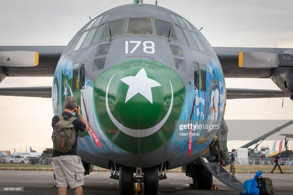 Royal International Air Tattoo Takes Place At RAF Fairford : News Photo