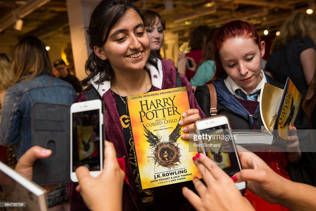 """""""Harry Potter and The Cursed Child"""" - Book Release At Foyles : News Photo"""