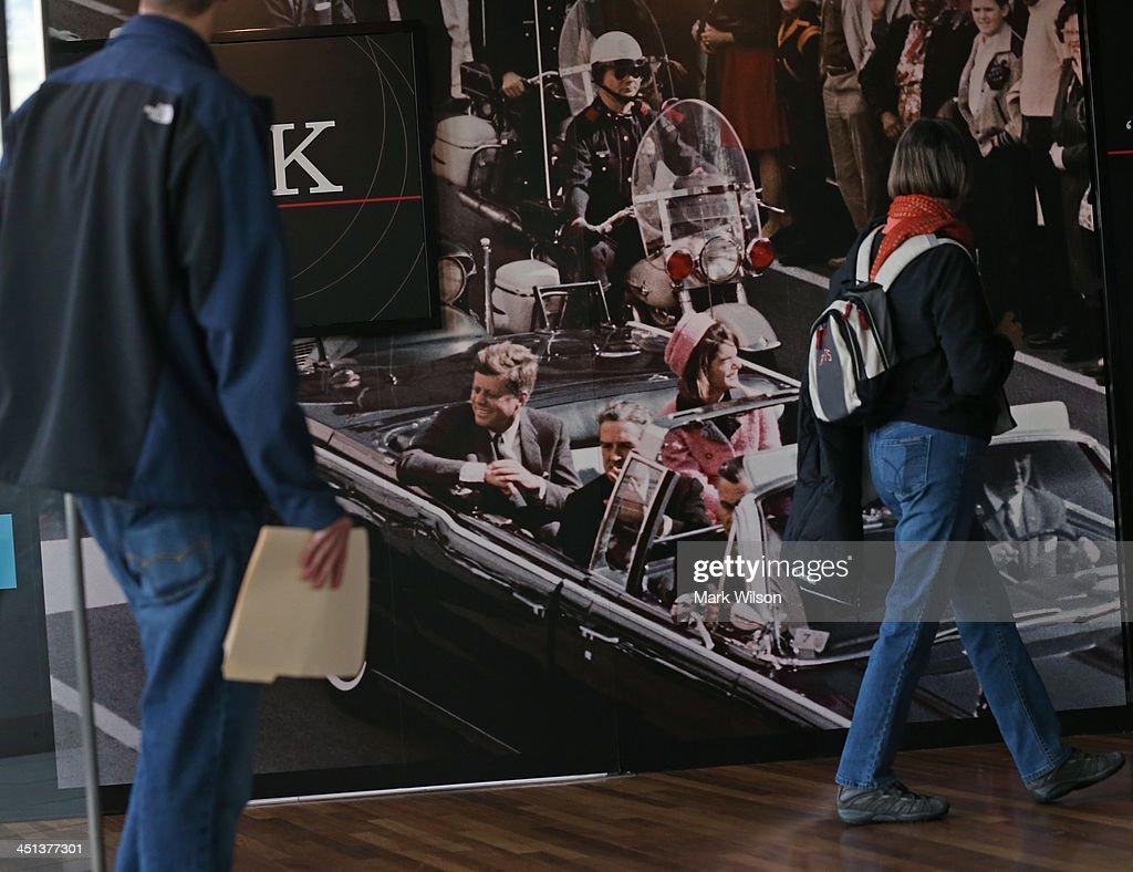 Washington DC Commemorates 50th Anniversary Of JFK's Assassination : News Photo
