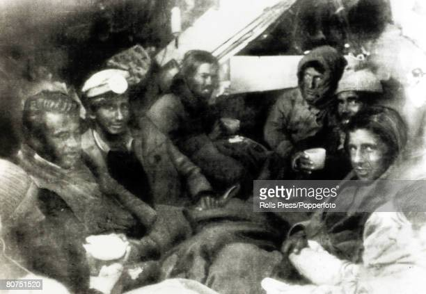 People Transport Aviation Disasters pic December 1972 Survivors from the Andes Flight Disaster in the wrecked fuselage after rescuers reached them On...