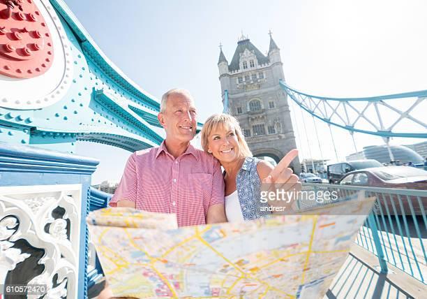 People traveling in London