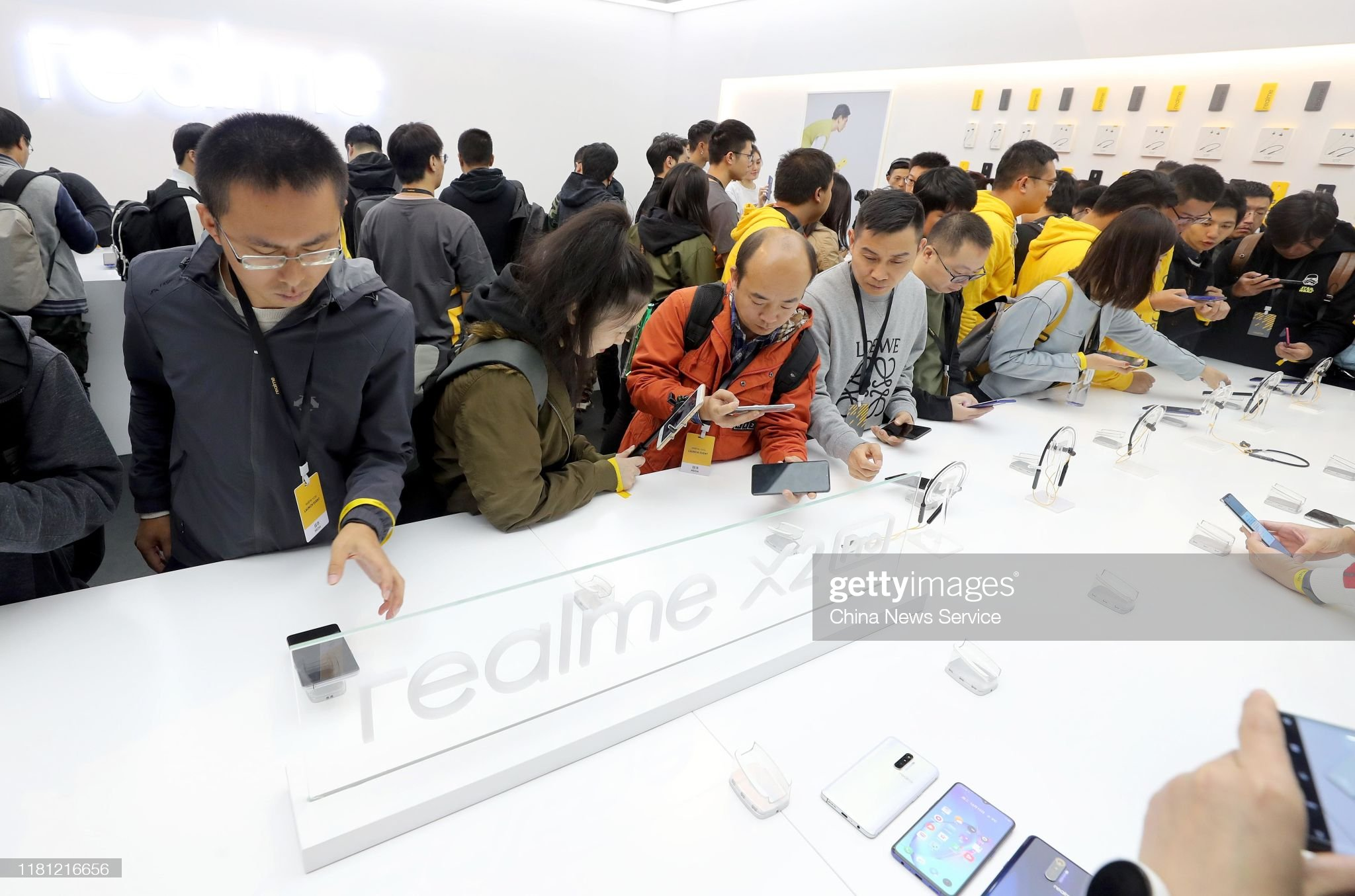 Realme Launches New Smartphone In Beijing : News Photo