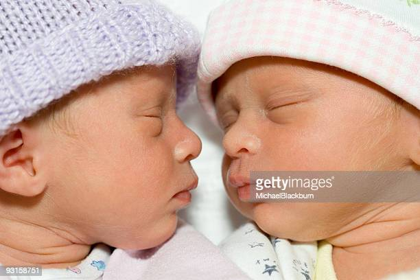 People - Twin Premies Sleeping