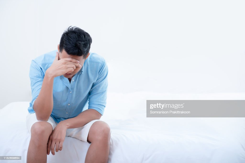 People unhappy and strain : Stock Photo