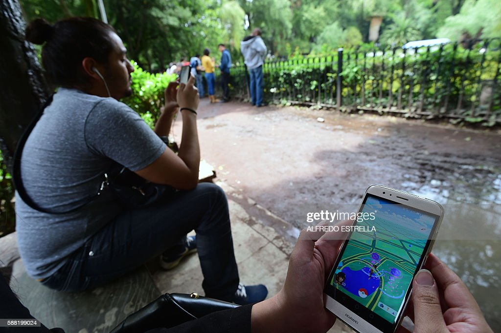 MEXICO-POKEMON GO : News Photo