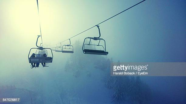 People Using Ski Lift