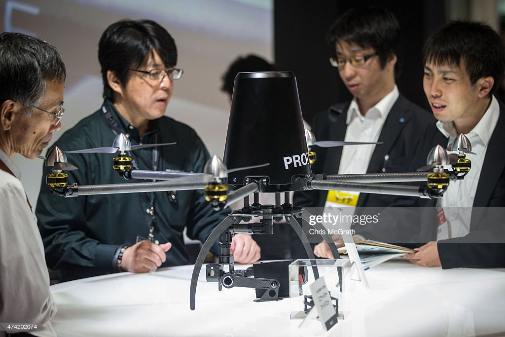 International Drone Expo 2015 : News Photo