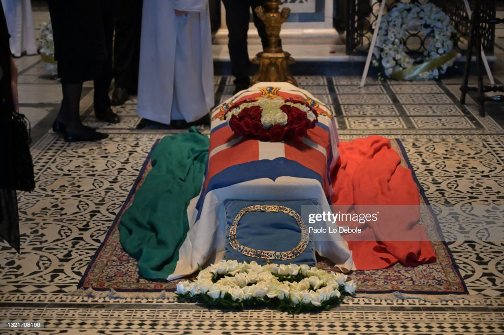 Prince Amedeo Di Savoia, Duke Of Aosta, Funeral In Florence : News Photo