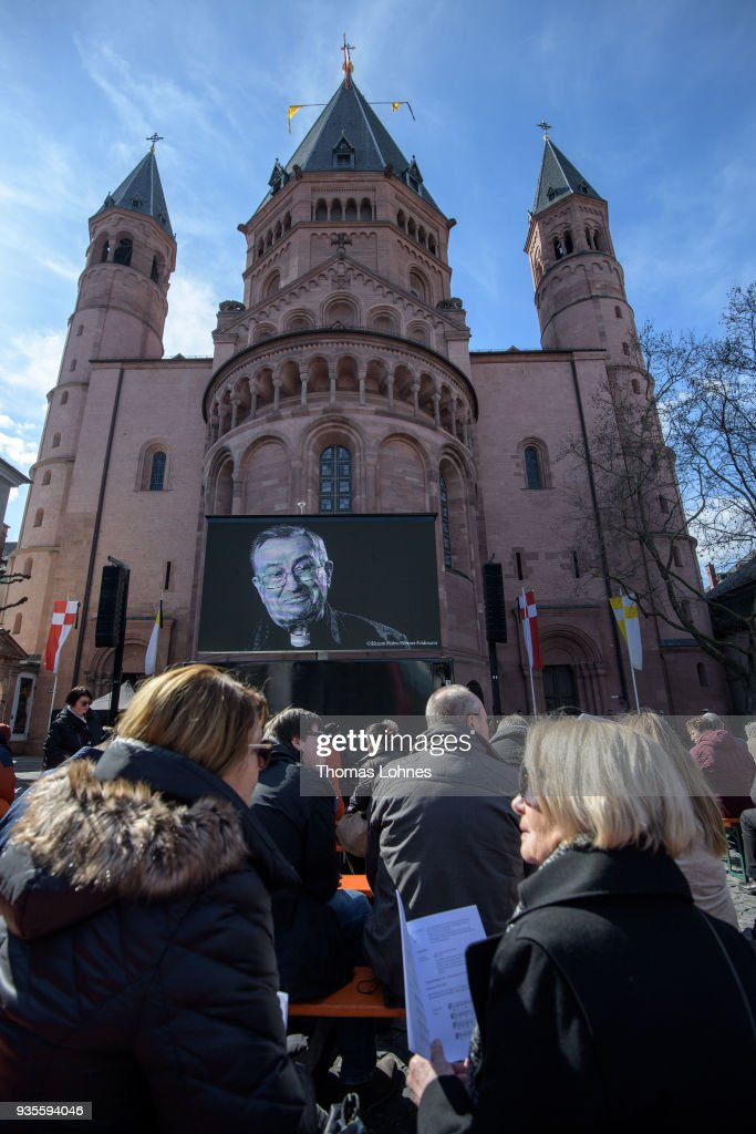 Funeral Service For Cardinal Karl Lehmann