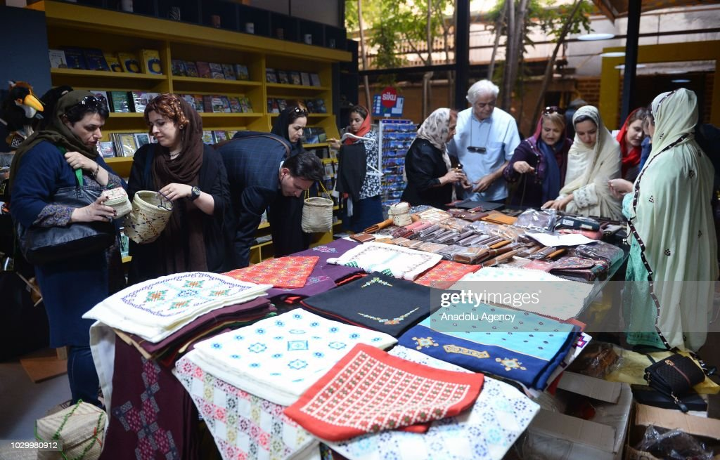 Baloch Women S Handicrafts Exhibition In Tehran Pictures Getty Images