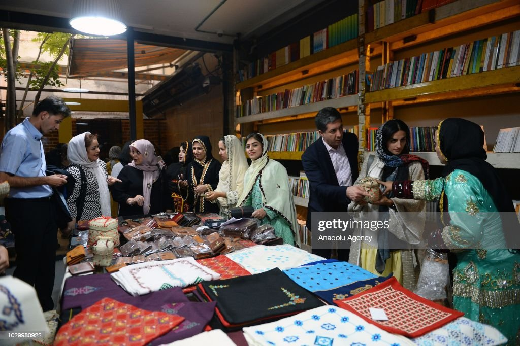 People Visit A Handicrafts Exhibition Of Baloch Women Living In Hard