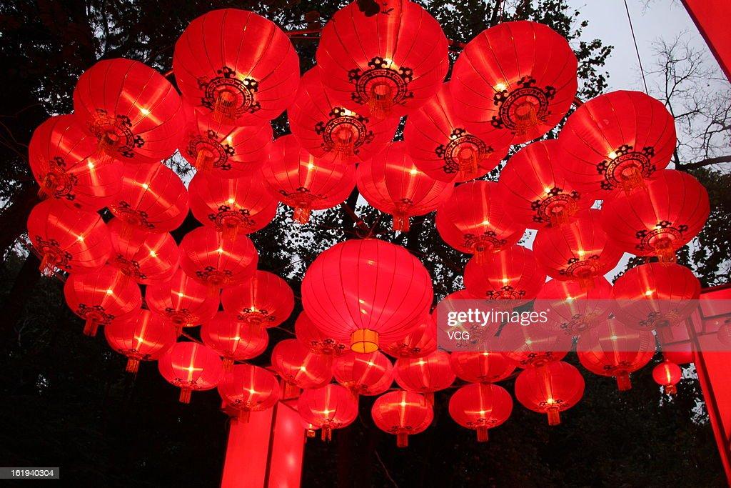 China's Spring Festival : Fotografía de noticias