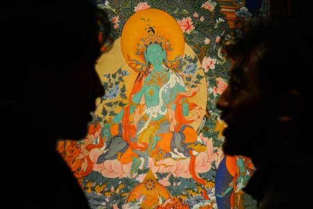 CHN: Tangka Exhibition In Lhasa