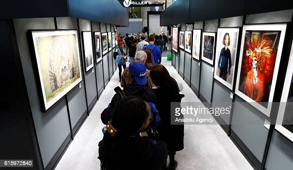 Photography Expo Stands : People visit companies exhibition stands during pdn photoplus expo