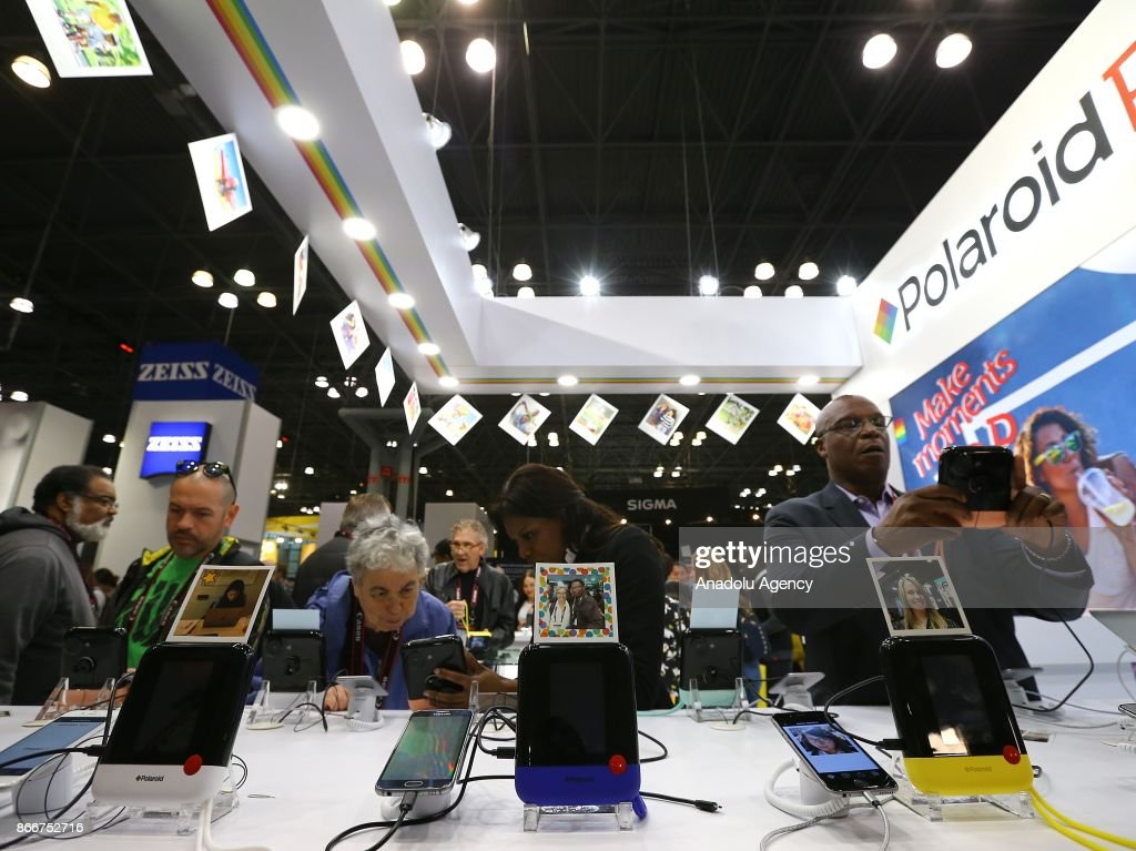 Expo Exhibition Stands Jobs : People visit companies exhibition stands during pdn photoplus expo