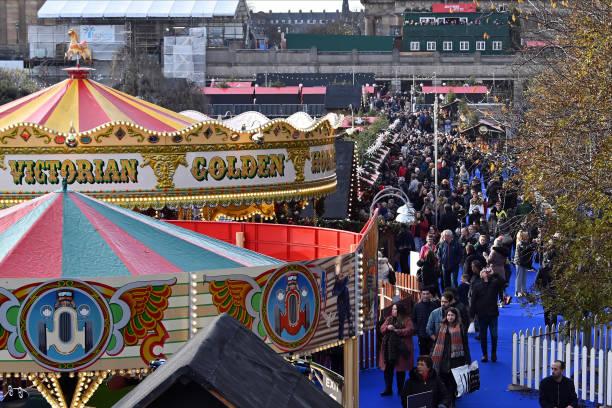 GBR: Edinburgh Christmas Market Opens Despite Planning Controversy
