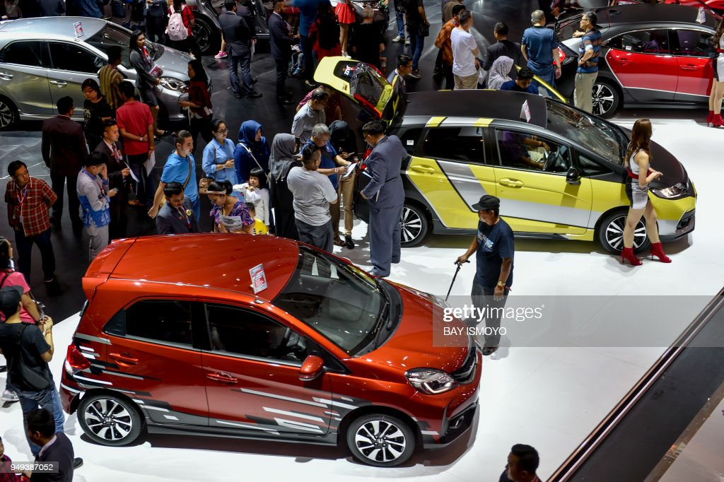 People Visit The Indonesia International Motor Show In Jakarta - Bay city car show 2018