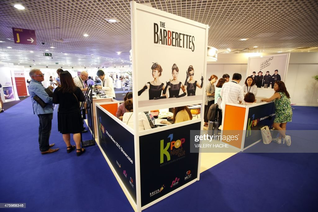 FRANCE-ENTERTAINMENT-MUSIC-INDUSTRY-MIDEM : News Photo