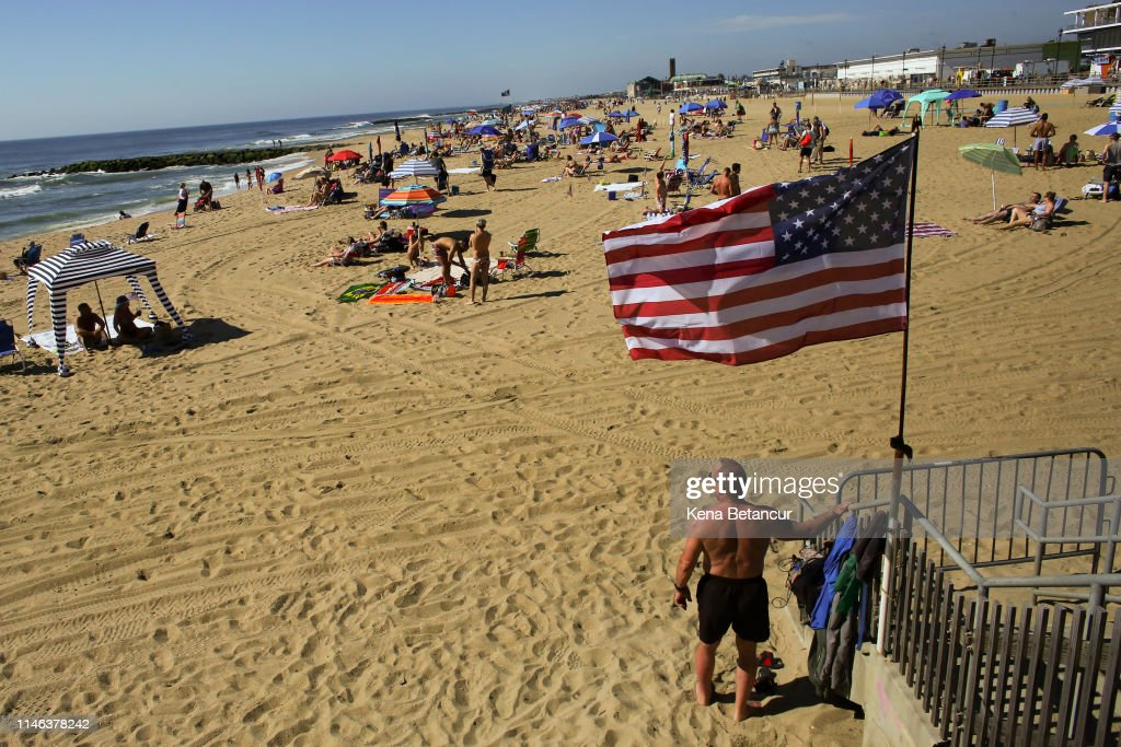 NJ: Jersey Shore Beaches Open For Season On Memorial Day Weekend