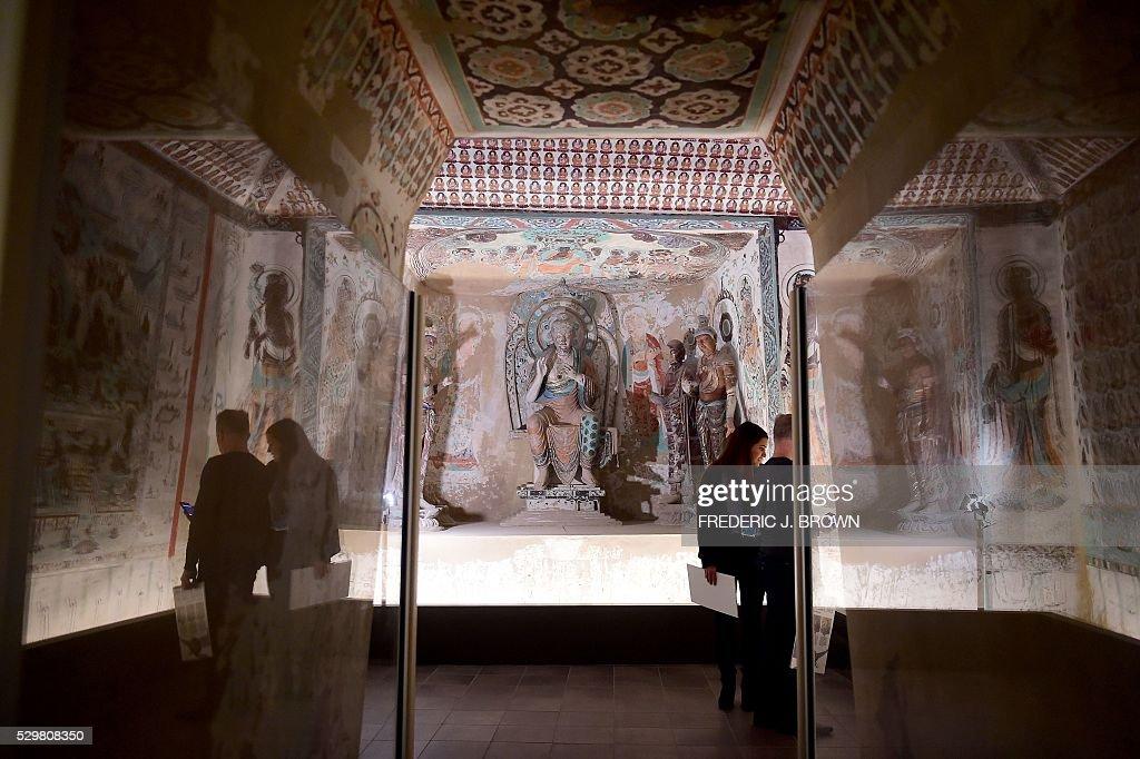 US-ART-MUSEUM-BUDDHA : News Photo