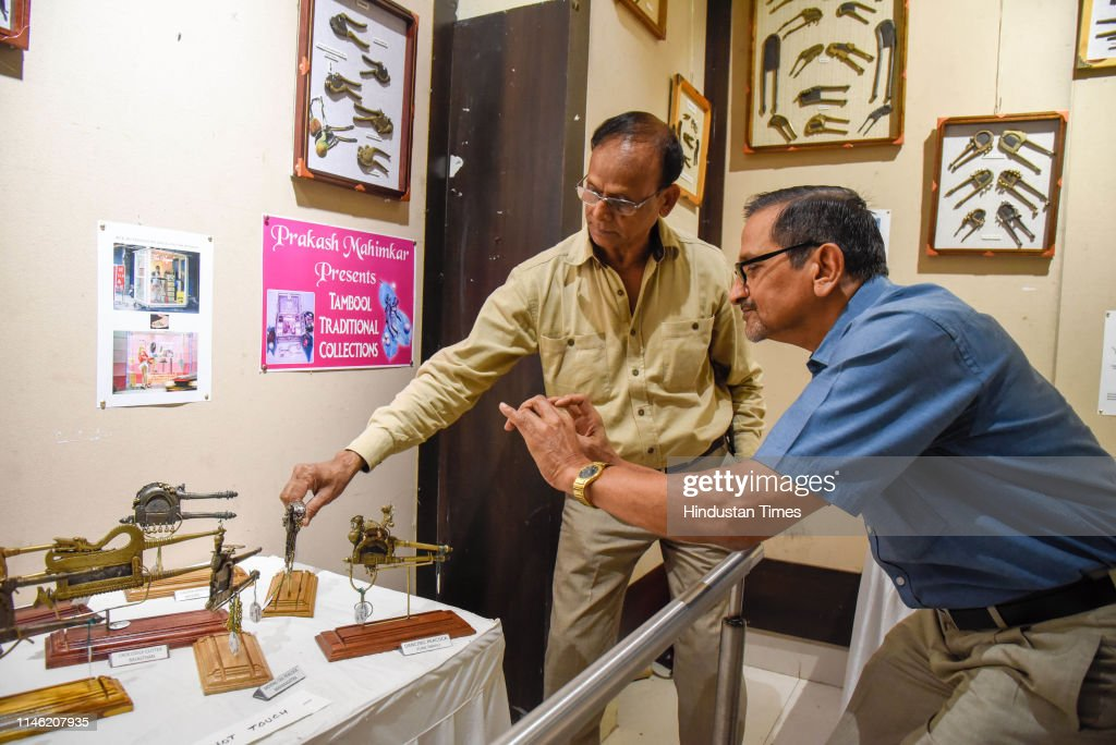 IND: People Visit The Exhibition Of Rare Items At Balgandharva Rangamandir In Pune
