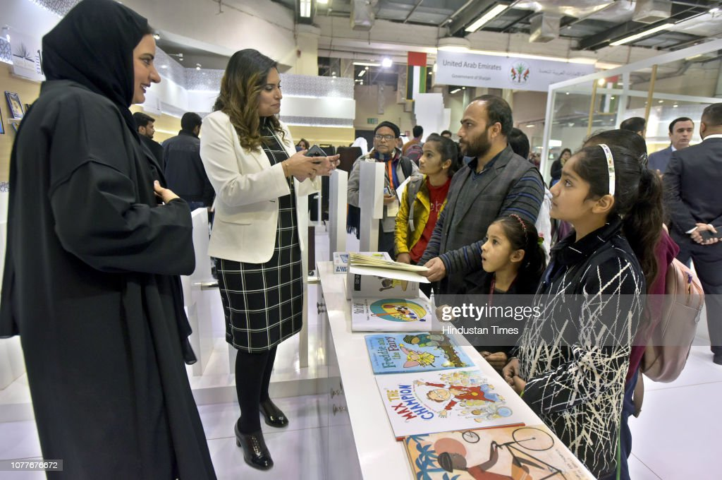 People Visit The Guest Of Honour Uae S Third Largest Emirate News Photo Getty Images