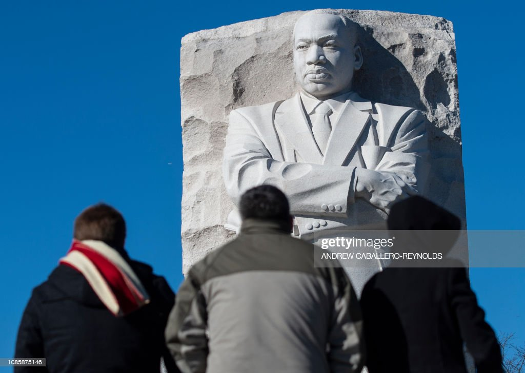 US-POLITICS-HOLIDAY-MLK : News Photo