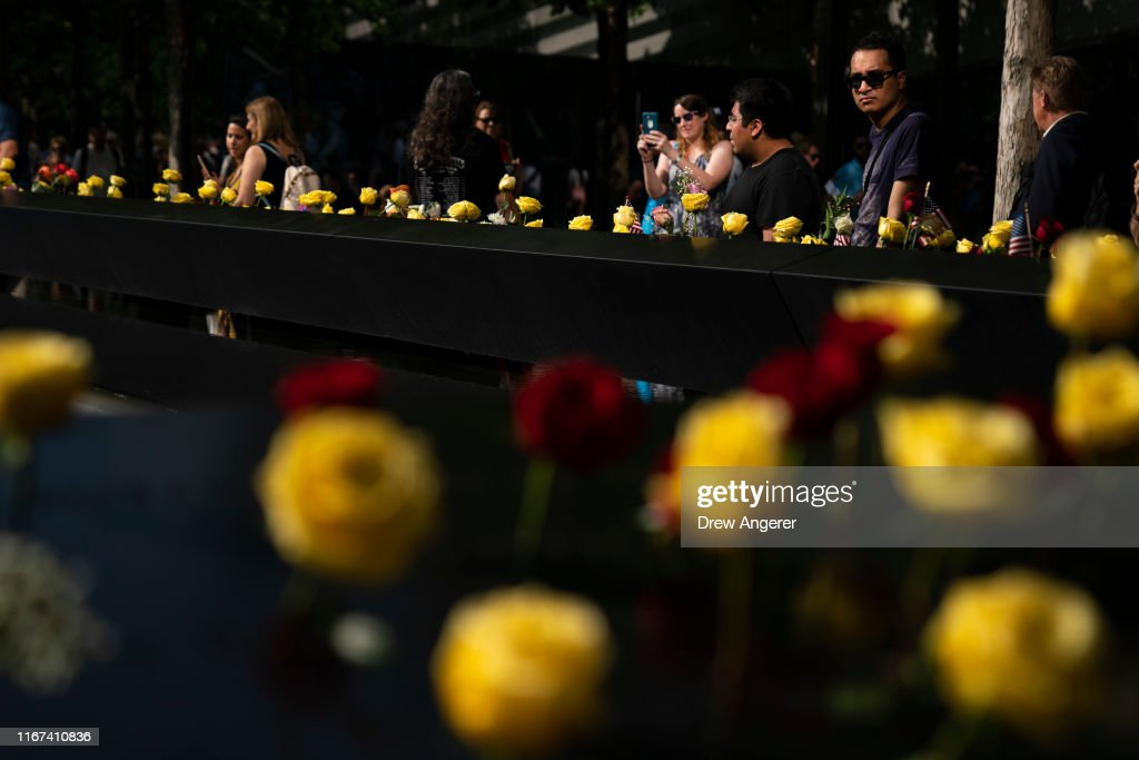 New York City Commemorates 18th Anniversary Of The 9/11 Terror Attacks : News Photo