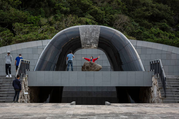 JPN: War Memorials In Okinawa As 75th Anniversary Of End Of WWII Approaches