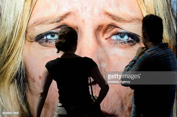 People visit the Photokina in Cologne Germany Tuesday Sept 20 2016 More than 1000 exhibitors from 51 countries show the latest developments in...