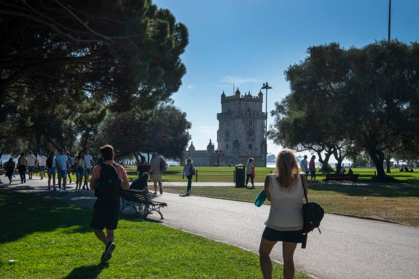 PRT: Daily Life In Lisbon Amid COVID-19 Pandemic