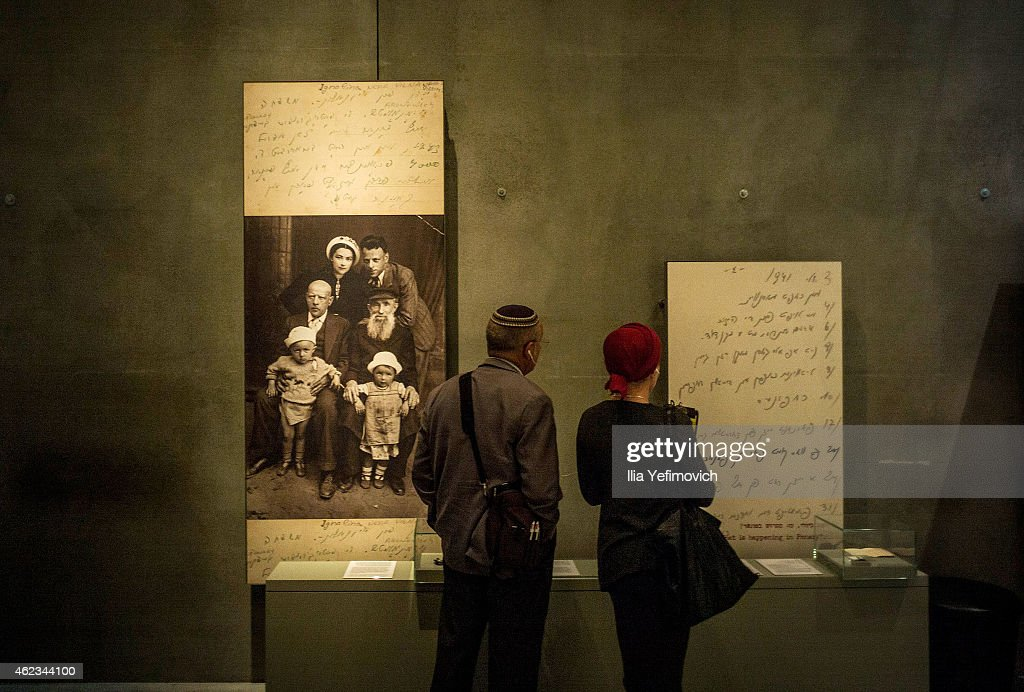 Holocaust Memorial Day Is Commemorated At Yad Vashem Museum : News Photo