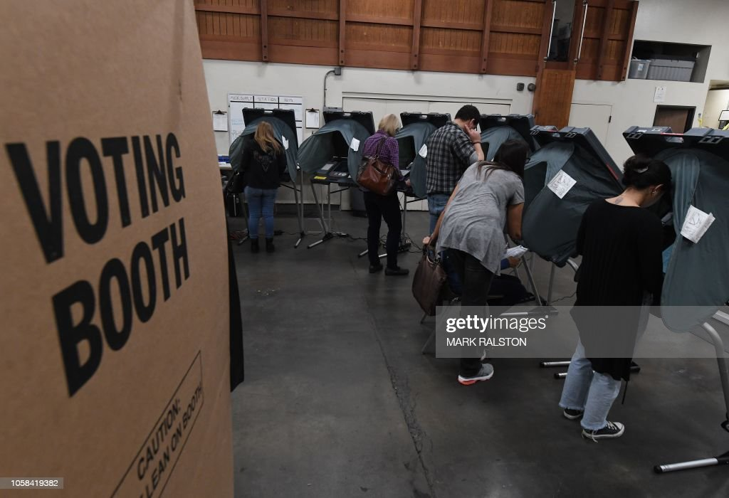 US-POLITICS-ELECTION-VOTE : News Photo