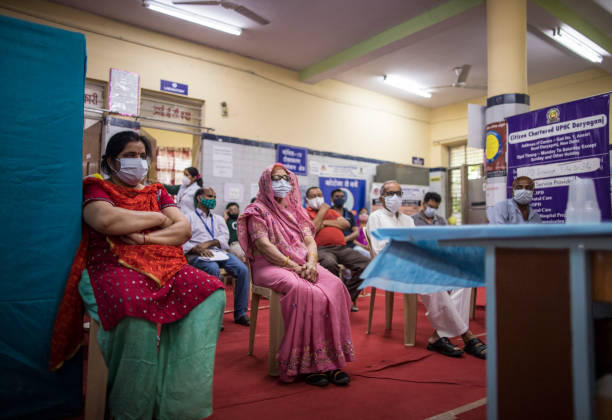 IND: India Holds Mass Vaccination Camps As Covid Numbers Overwhelm Hospitals