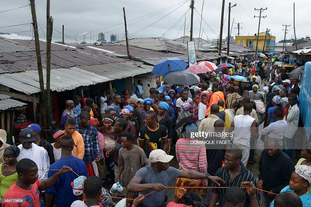 LIBERIA-HEALTH-EBOLA-WAFRICA : News Photo