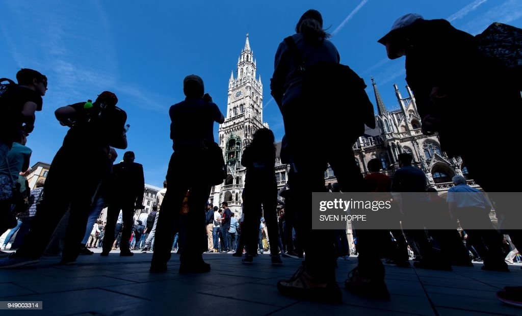 TOPSHOT-GERMANY-TOURISM-MUNICH : News Photo