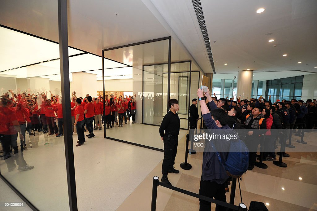 Second apple store opens in shenyang photos and images getty images people wait for the opening of the second apple store in shenyang on january 9 planetlyrics Gallery