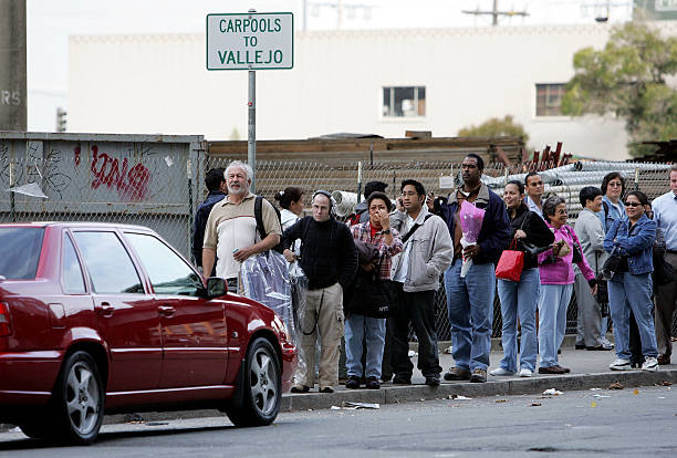 Carpooling Saves Californians Time Money Photos And Images Getty