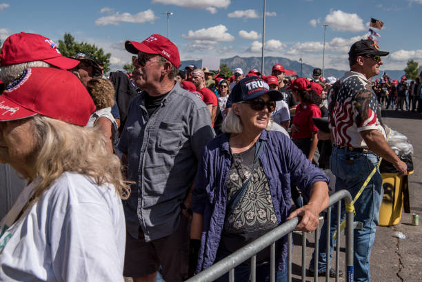 NM: Donald Trump Holds Political Rally In New Mexico