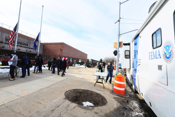 NY: NY State Opens Two Vaccination Sites In Partnership With FEMA