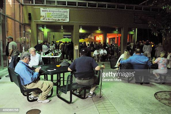 people wait outside the maxwell c king center for the performing news photo getty images. Black Bedroom Furniture Sets. Home Design Ideas