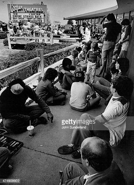 MAY 22 1980 People wait to get into a screening of Star Wars The Empire Strikes Back