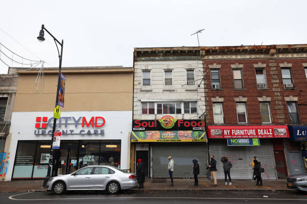 NY: Across The City, New Yorkers Face Long Lines For COVID-19 Testing